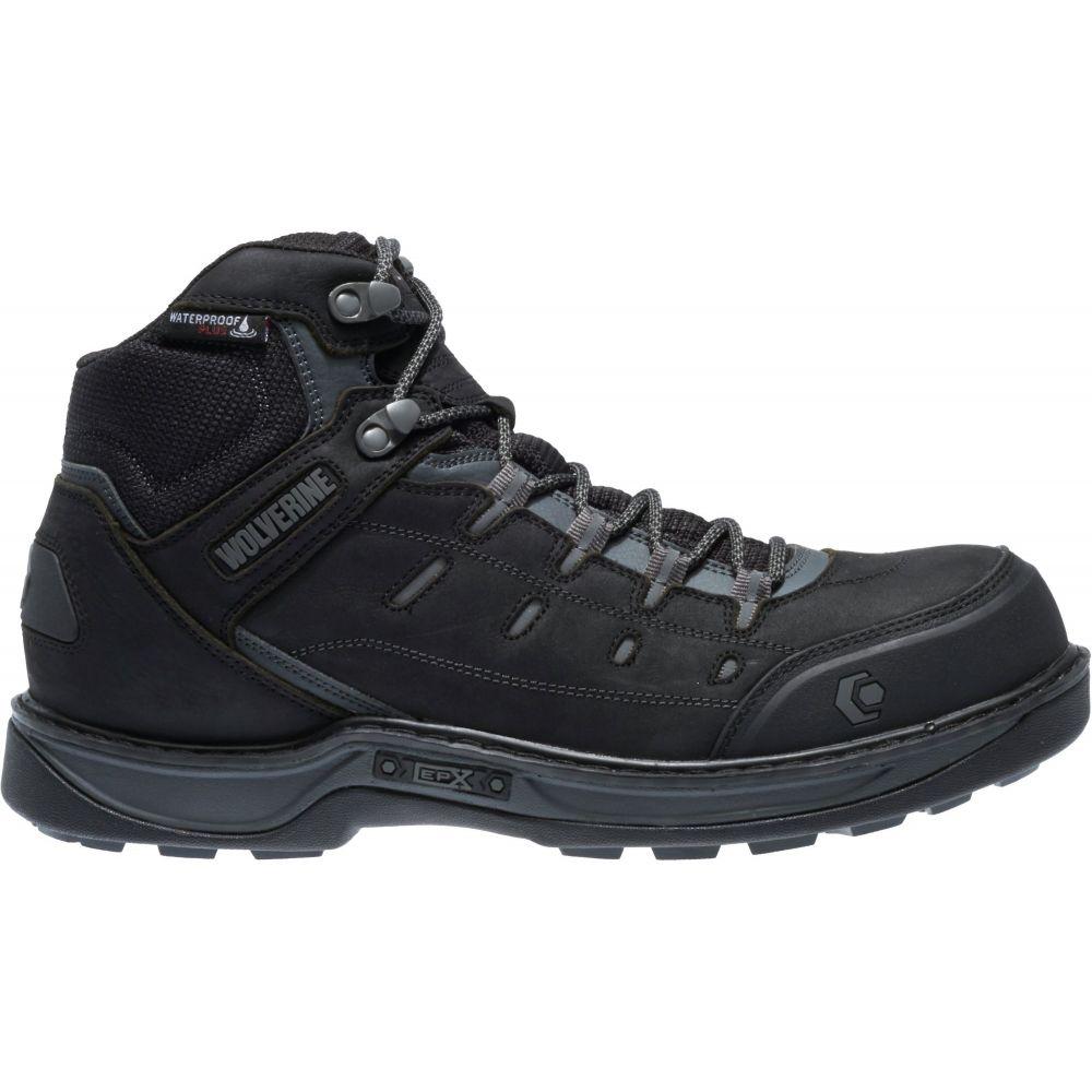 ウルヴァリン Wolverine メンズ ブーツ ワークブーツ シューズ・靴【Edge LX EPX Waterproof CarbonMAX Work Boots】Black/Grey