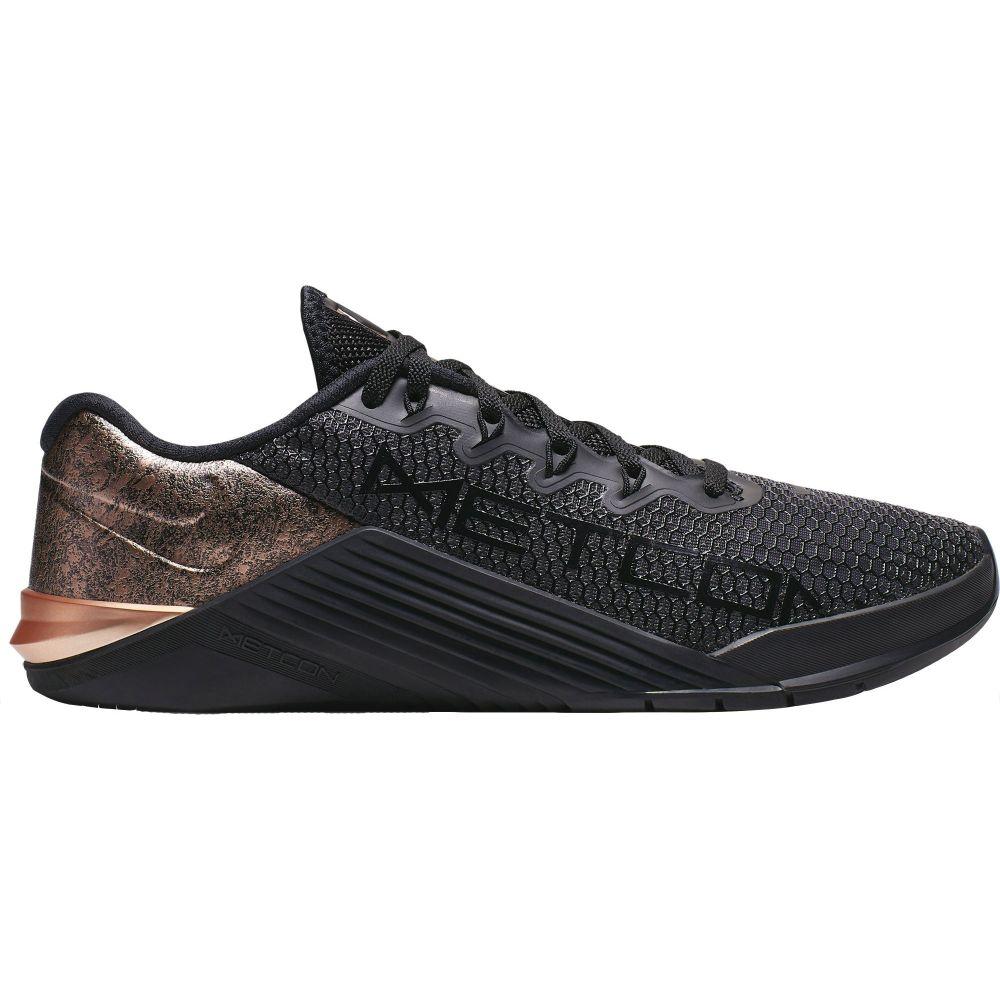 ナイキ Nike レディース フィットネス・トレーニング シューズ・靴【Metcon 5 Black x Rose Gold Training Shoes】Black/Bronze