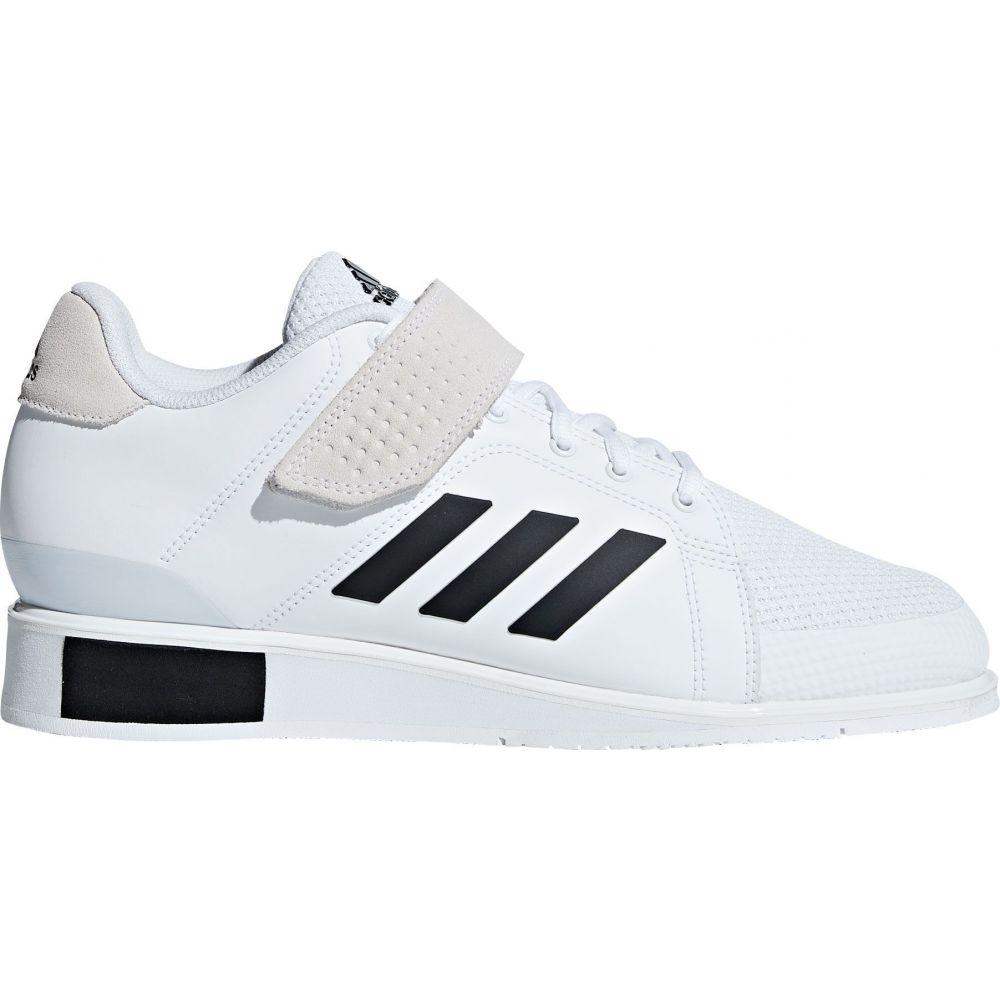 アディダス adidas メンズ スニーカー シューズ・靴【Power Perfect 3 Weightlifting Shoes】White/Black