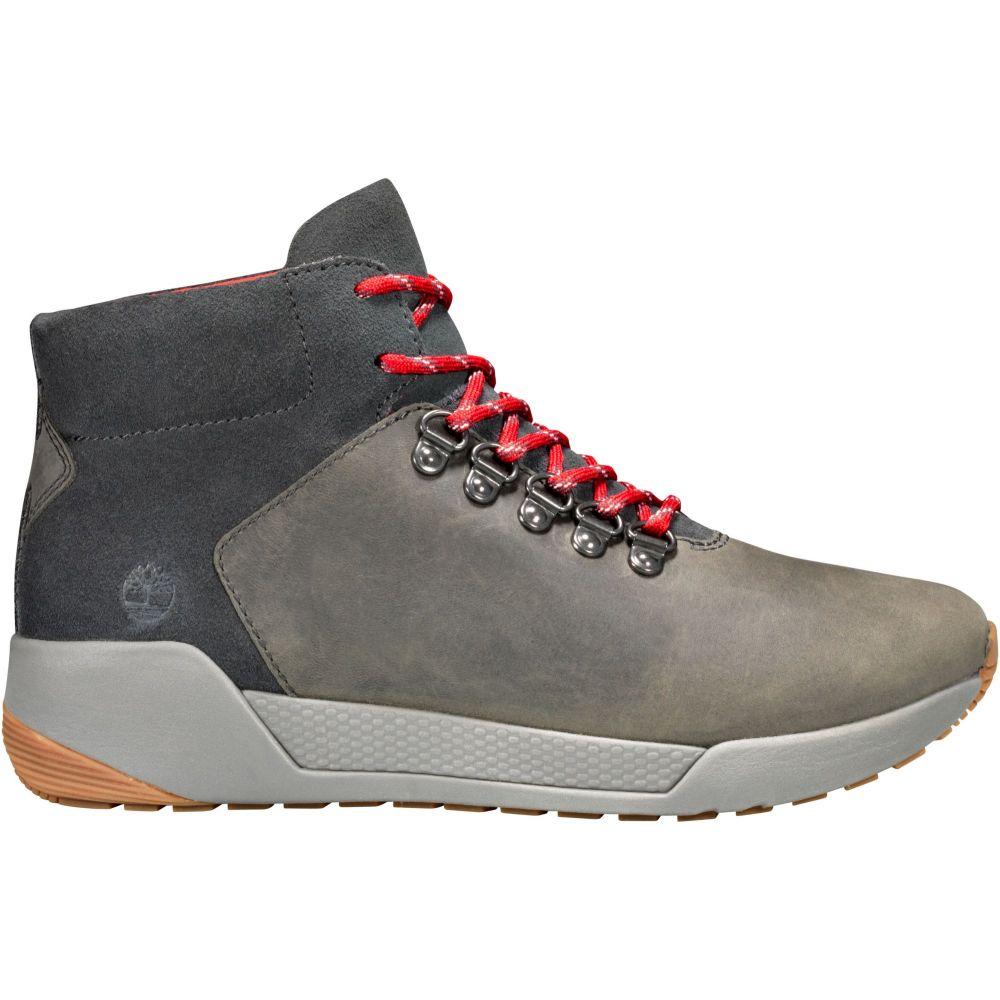 ティンバーランド Timberland レディース ハイキング・登山 シューズ・靴【Kiri Up Waterproof Hiking Shoes】Dark Grey Full Grain