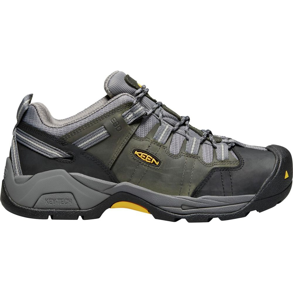 キーン Keen メンズ シューズ・靴 【KEEN Detroit XT Waterproof Work Shoes】Magnet