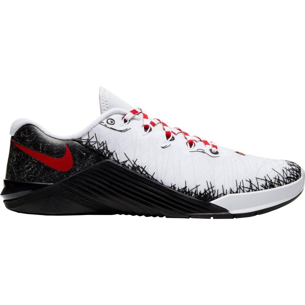 ナイキ Nike メンズ フィットネス・トレーニング シューズ・靴【Metcon 5 AMP Training Shoes】White/Red/Black