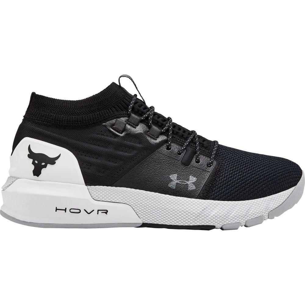 アンダーアーマー Under Armour メンズ フィットネス・トレーニング シューズ・靴【Project Rock 2 Training Shoes】Black/White