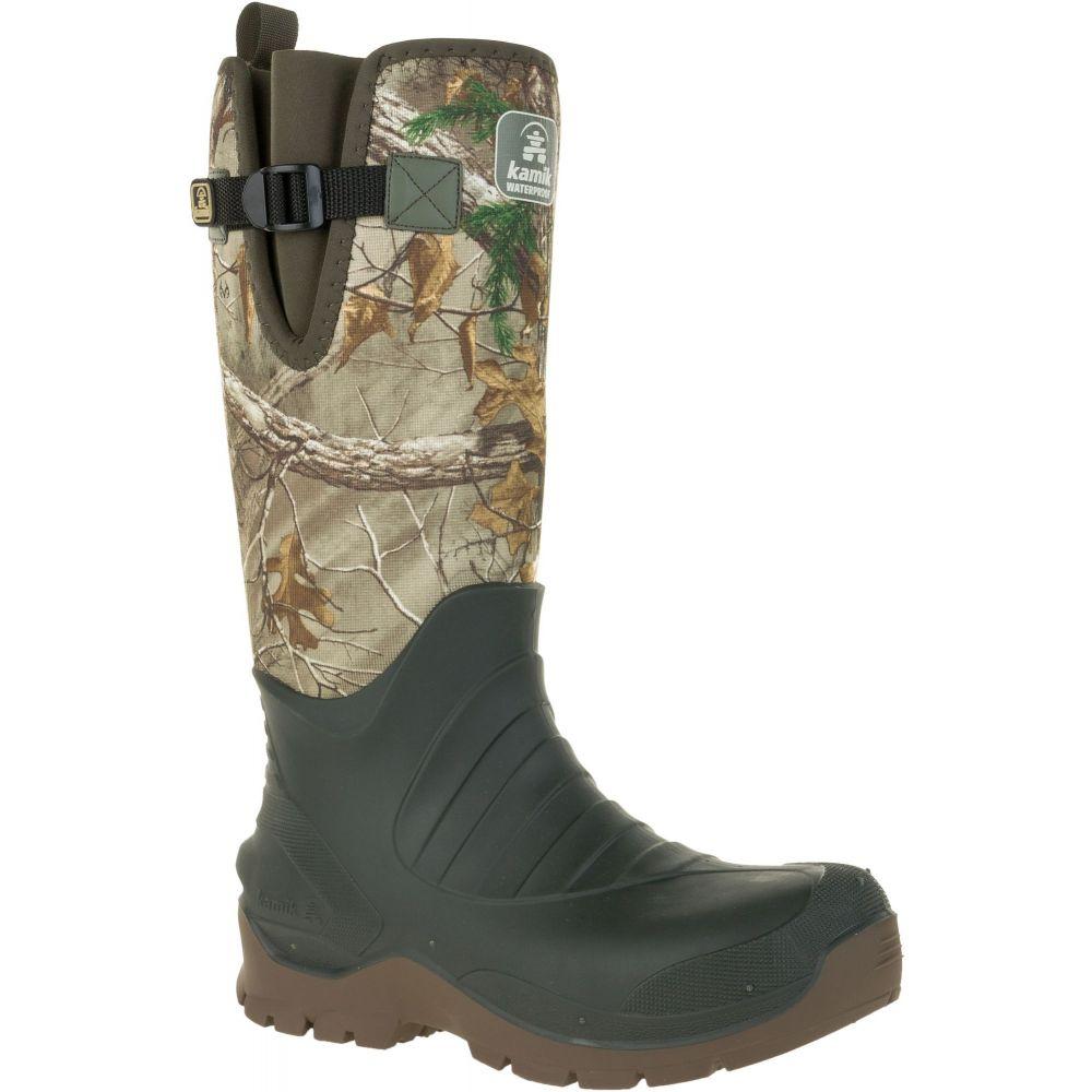 カミック Kamik メンズ ブーツ シューズ・靴【Fieldman RTX Rubber Hunting Boots】Realtree Xtra