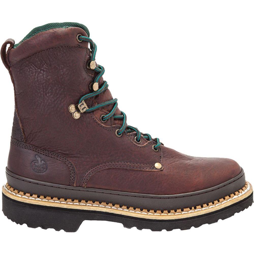 ジョージアブーツ Georgia Boots メンズ ブーツ ワークブーツ シューズ・靴【Georgia Boot Giant 8'' Work Boots】Brown