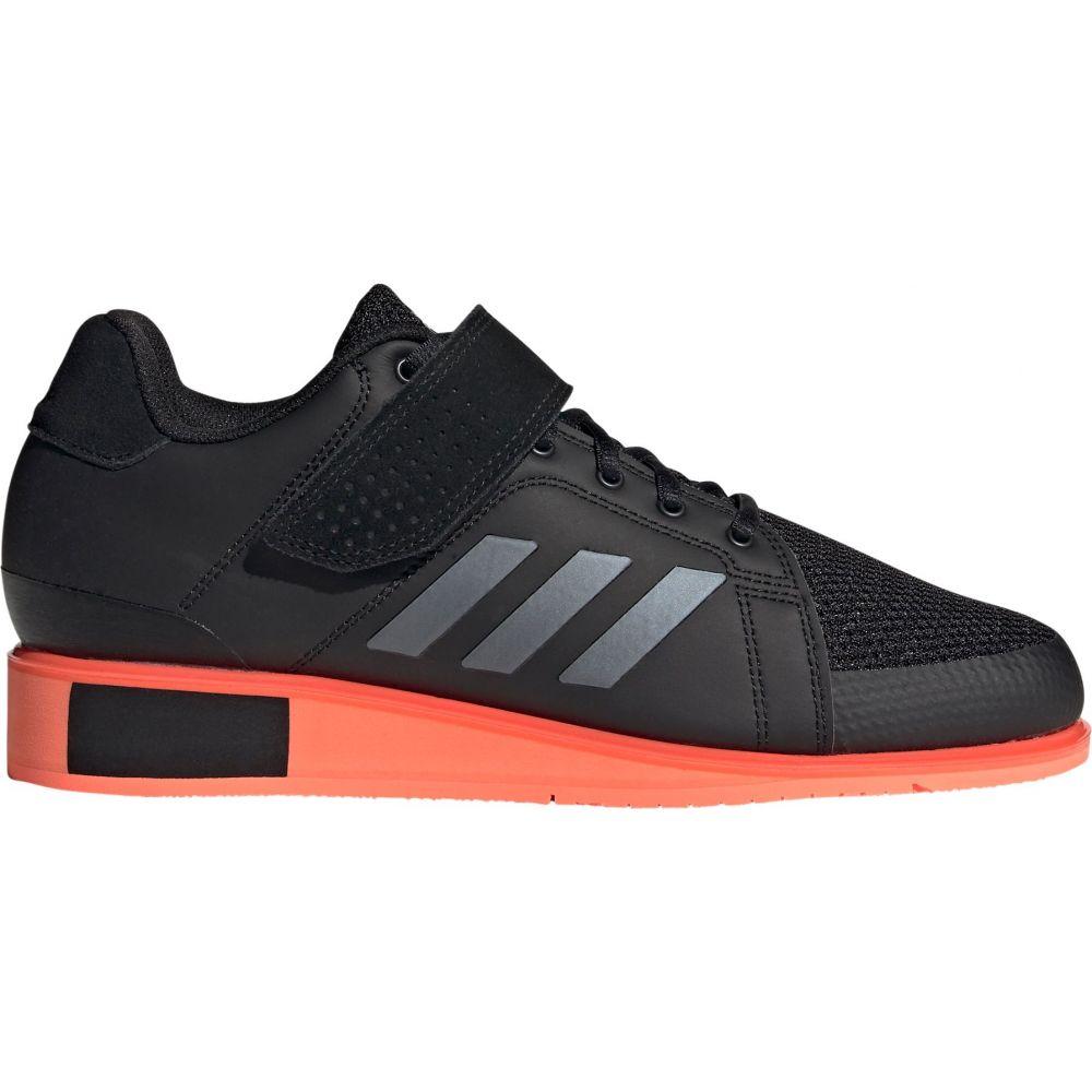 アディダス adidas メンズ スニーカー シューズ・靴【Power Perfect 3 Weightlifting Shoes】Black/Coral