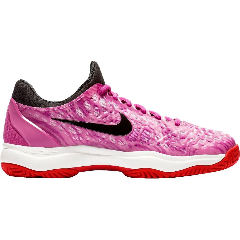 ナイキ Nike レディース テニス シューズ・靴【Zoom Cage 3 Tennis Shoes】Pink/Black