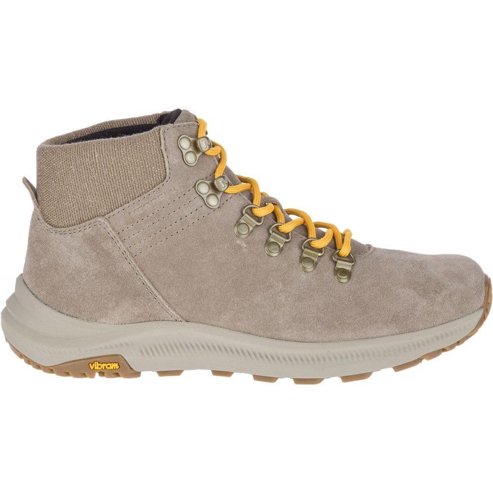メレル Merrell レディース ハイキング・登山 ブーツ シューズ・靴【Ontario Suede Mid Hiking Boots】Brindle