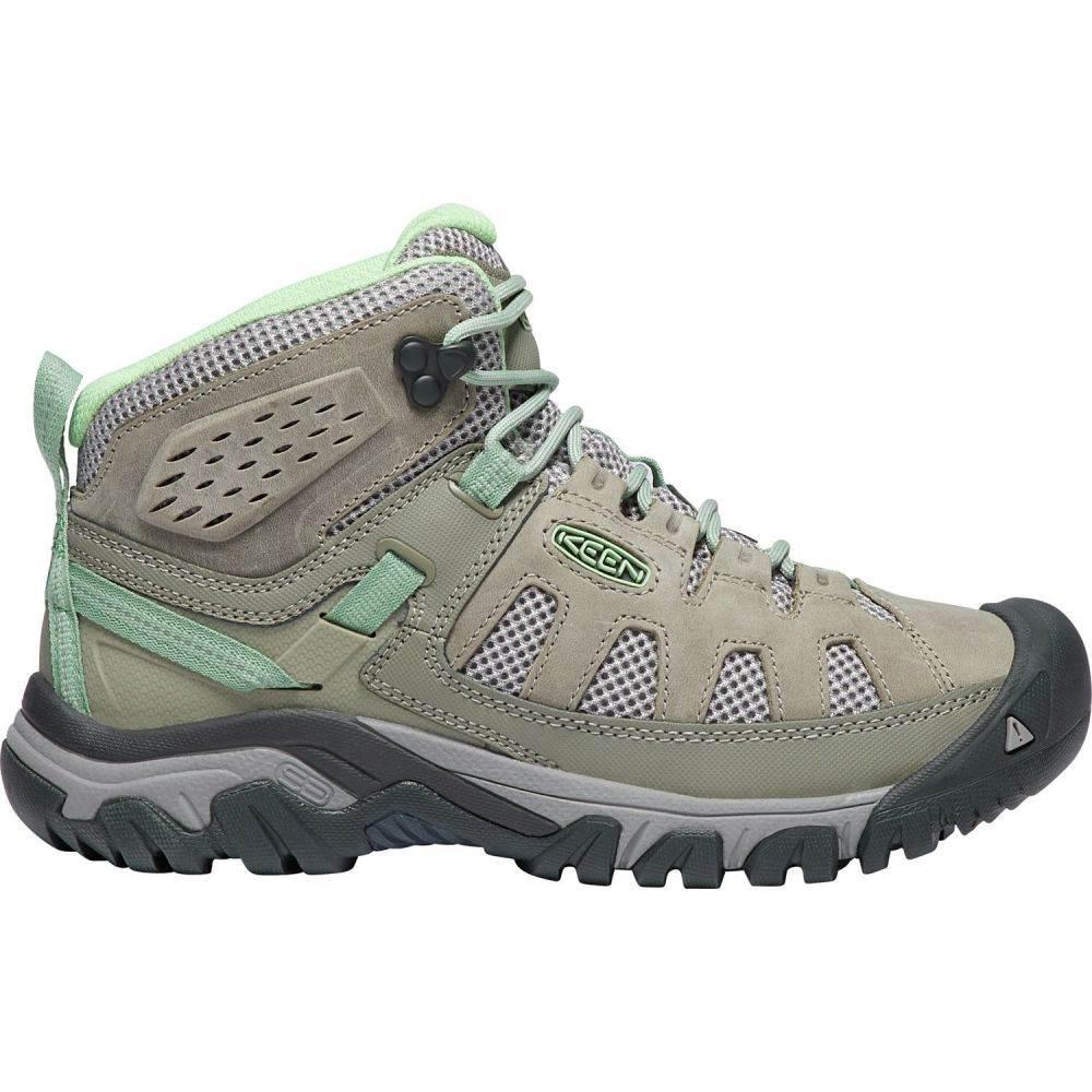 キーン Keen レディース ハイキング・登山 ブーツ シューズ・靴【KEEN Targhee Vent Mid Hiking Boots】Fumo/Quiet Green