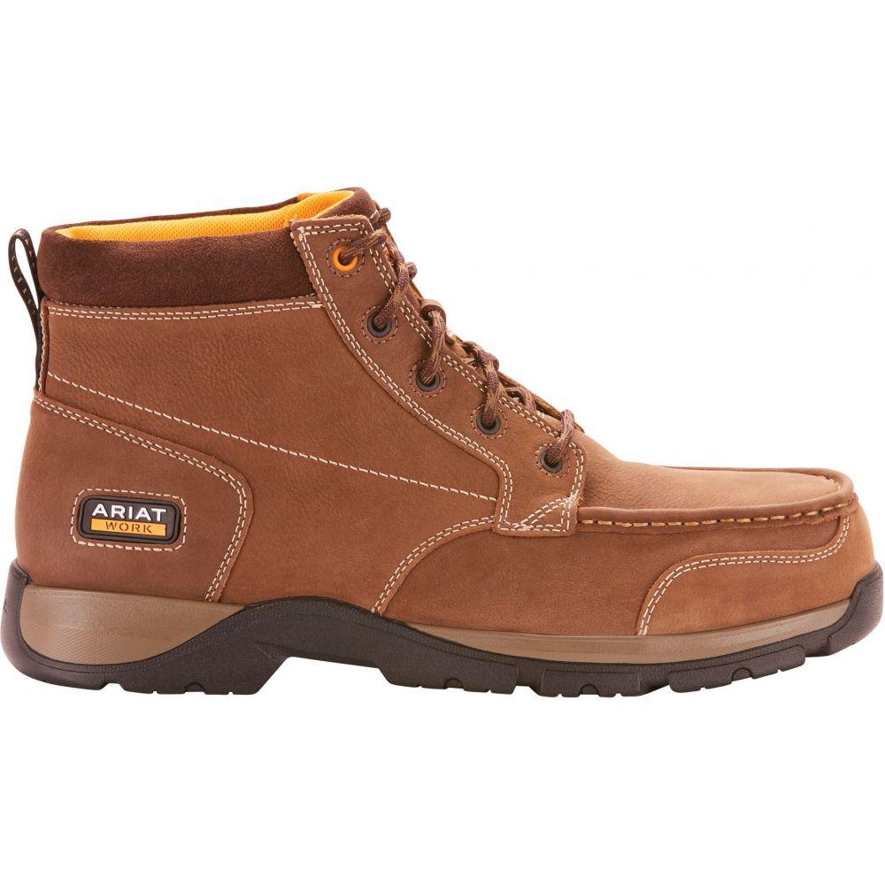 アリアト Ariat メンズ ブーツ ワークブーツ チャッカブーツ シューズ・靴【Edge LTE Chukka Composite Toe Work Boots】Dark Brown