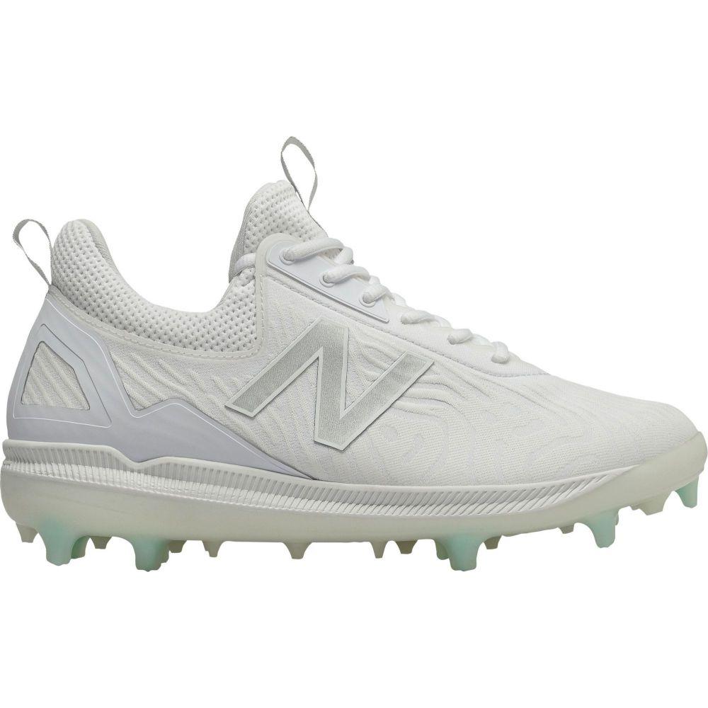 ニューバランス New Balance メンズ 野球 スパイク シューズ・靴【COMPV2 Baseball Cleats】White/White