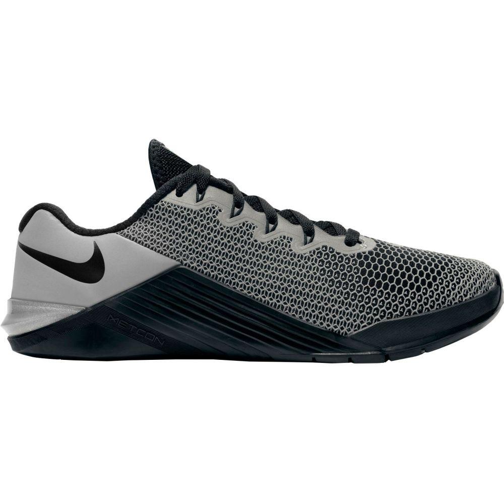ナイキ Nike レディース フィットネス・トレーニング シューズ・靴【Metcon 5 X Training Shoes】Black/Reflective Silver