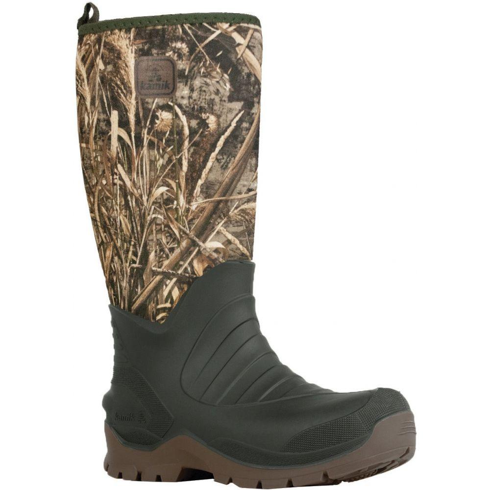 カミック Kamik メンズ ブーツ シューズ・靴【Bushman Realtree Max 5 Rubber Hunting Boots】Realtree Max 5