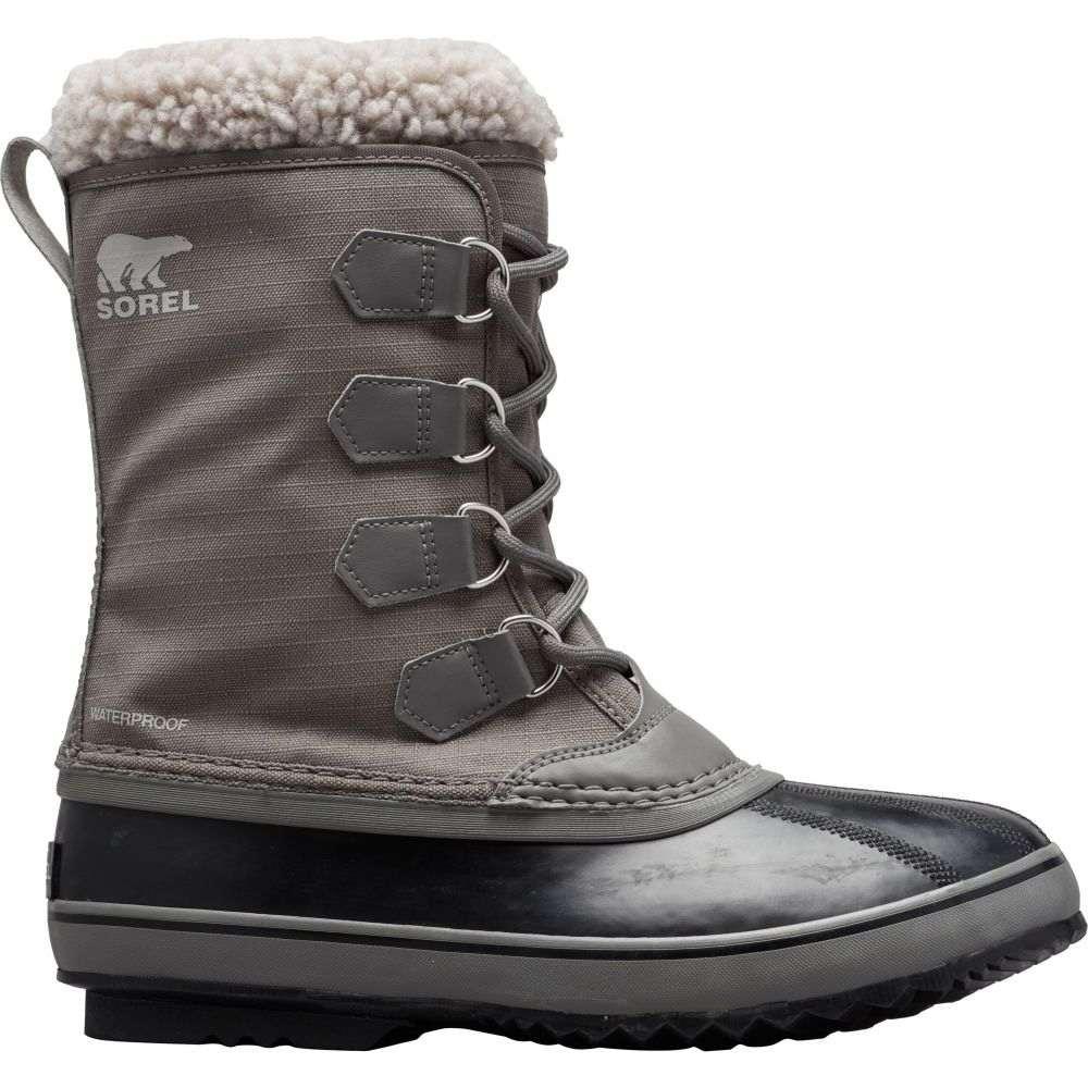 ソレル SOREL メンズ ブーツ ウインターブーツ シューズ・靴【1964 Pac Nylon Waterproof Insulated Winter Boots】Quarry/Dove