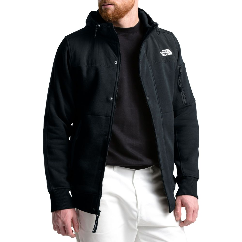 ザ ノースフェイス The North Face メンズ フリース トップス【Sherpa Lined Rivington Fleece Jacket】TNF Black