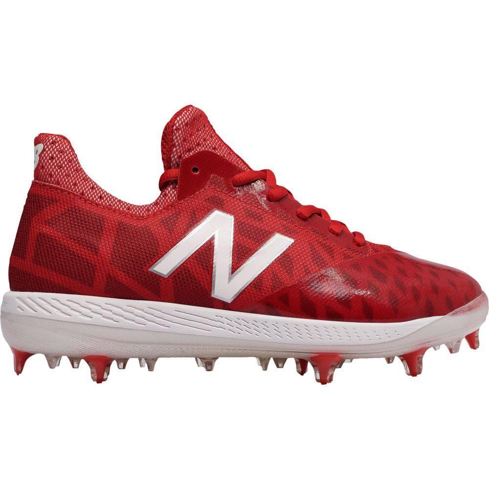 ニューバランス New Balance メンズ 野球 スパイク シューズ・靴【COMPV1 Baseball Cleats】Red/White