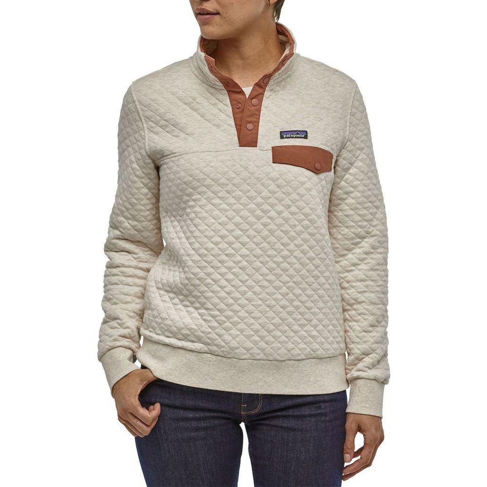パタゴニア Patagonia レディース トップス 【Cotton Quilt Snap-T Pullover】Dyno White