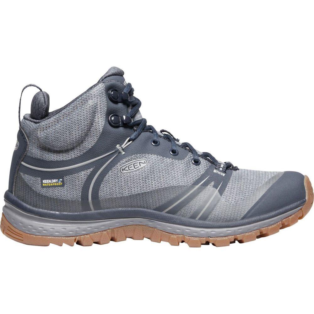 キーン Keen レディース ハイキング・登山 ブーツ シューズ・靴【KEEN Terradora Mid Waterproof Hiking Boots】青 Nights/青 Mirage