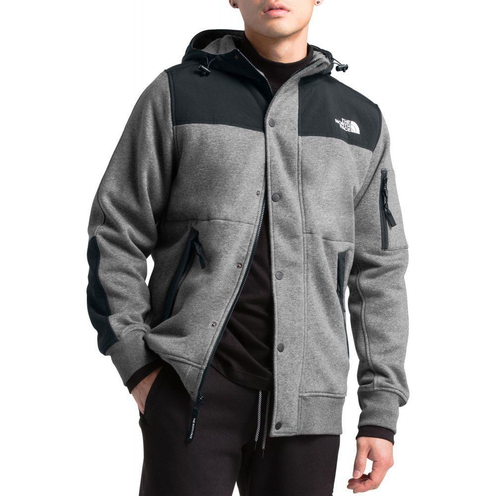 ザ ノースフェイス The North Face メンズ フリース トップス【Sherpa Lined Rivington Fleece Jacket】Tnf Medium Grey Heather