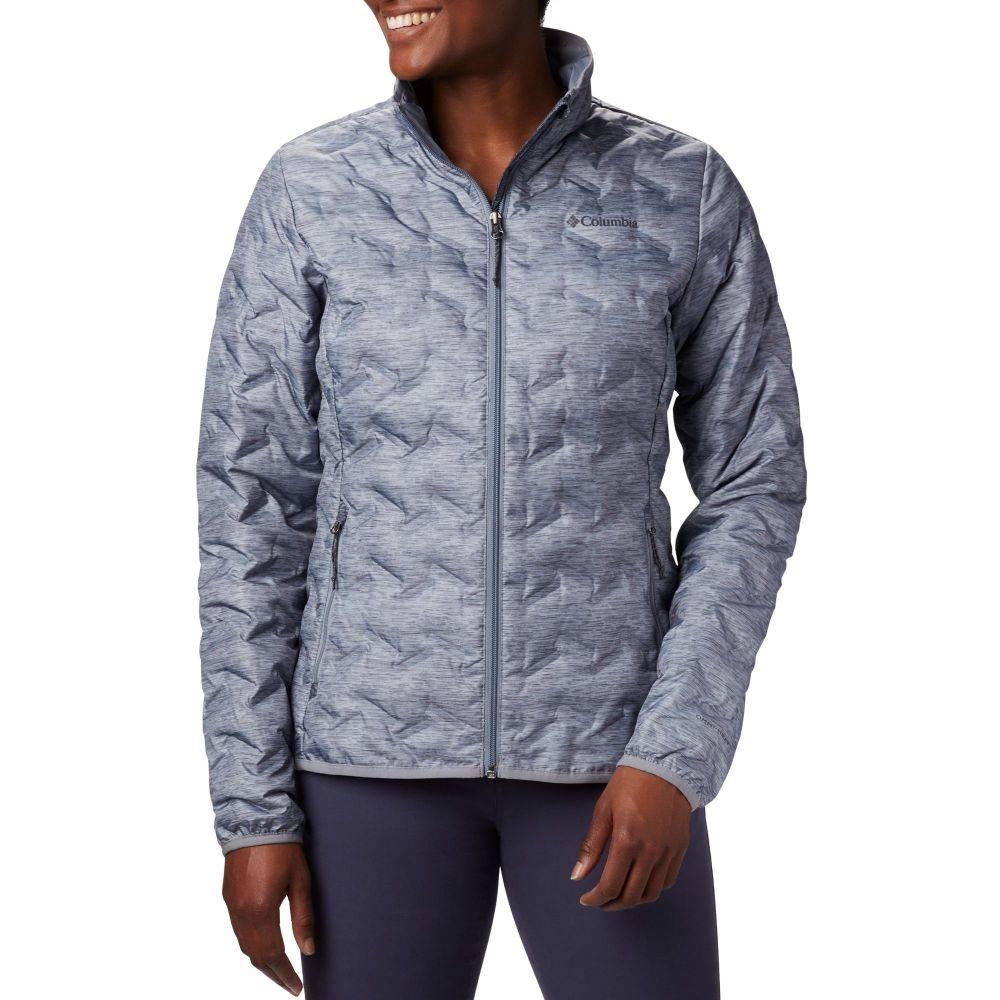 コロンビア Columbia レディース ジャケット アウター【Delta Ridge Down Insulated Jacket】Tradewinds Grey/Heather