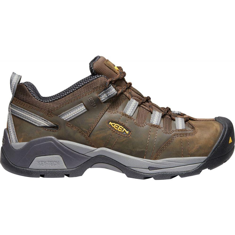 キーン Keen メンズ シューズ・靴 【KEEN Detroit XT Steel Toe Work Shoes】Cascade Brown