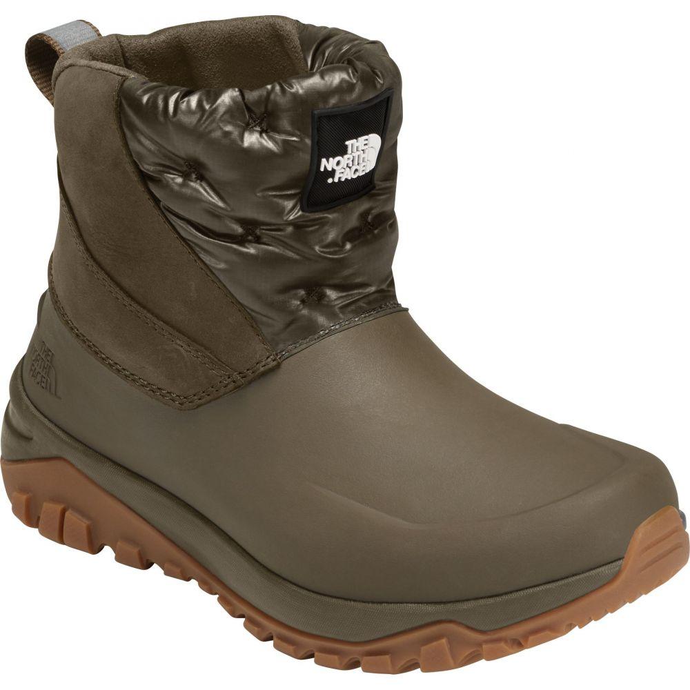 ザ ノースフェイス The North Face レディース ブーツ ショートブーツ ウインターブーツ シューズ・靴【Yukonia Ankle 200g Waterproof Winter Boots】New Taupe Green/Tnf Black
