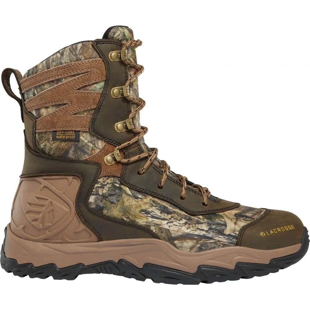ラクロッセ LaCrosse メンズ 陸上 シューズ・靴【Windrose 8'' Mossy Oak Break-Up Country 600g Waterproof Hunting Boots】Mossy Oak Breakup Country