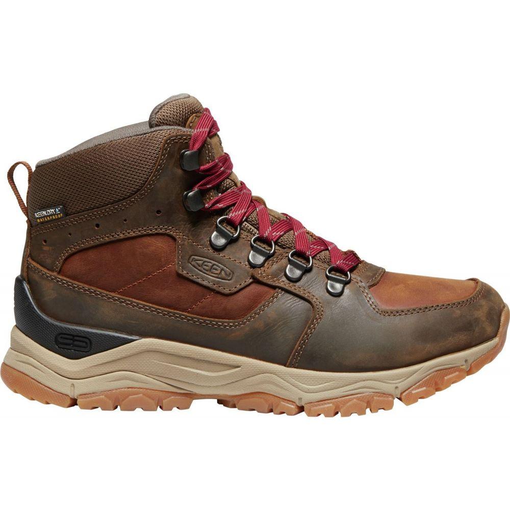 キーン Keen レディース ハイキング・登山 ブーツ シューズ・靴【KEEN Innate Mid Waterproof Hiking Boots】Praline/Cherry
