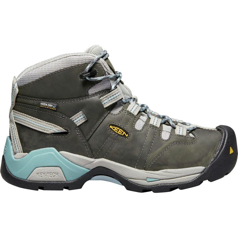 キーン Keen レディース ブーツ ワークブーツ シューズ・靴【KEEN Detroit XT Mid Waterproof Work Boots】Magnet