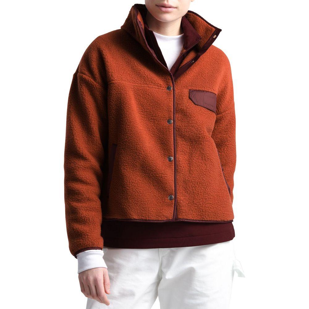 ザ ノースフェイス The North Face レディース フリース トップス【Cragmont Fleece Jacket】Picante Rd/Dp Gnt Red Htr