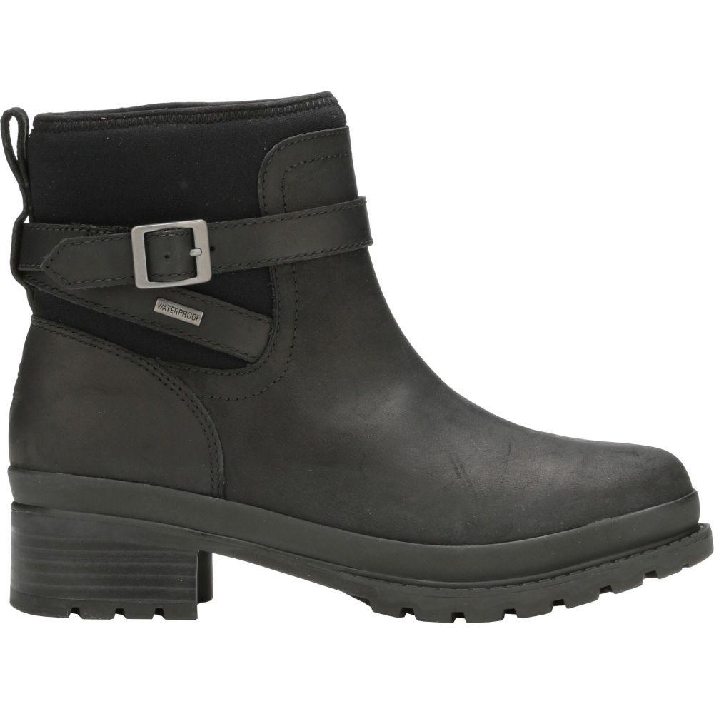マックブーツ Muck Boots レディース ブーツ ショートブーツ シューズ・靴【Liberty Ankle Waterproof Leather Boots】Black