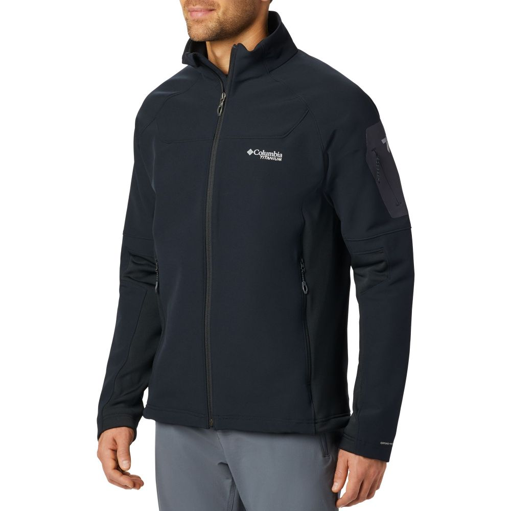 コロンビア Columbia メンズ ジャケット アウター【Titan Ridge 2.0 Jacket】Black