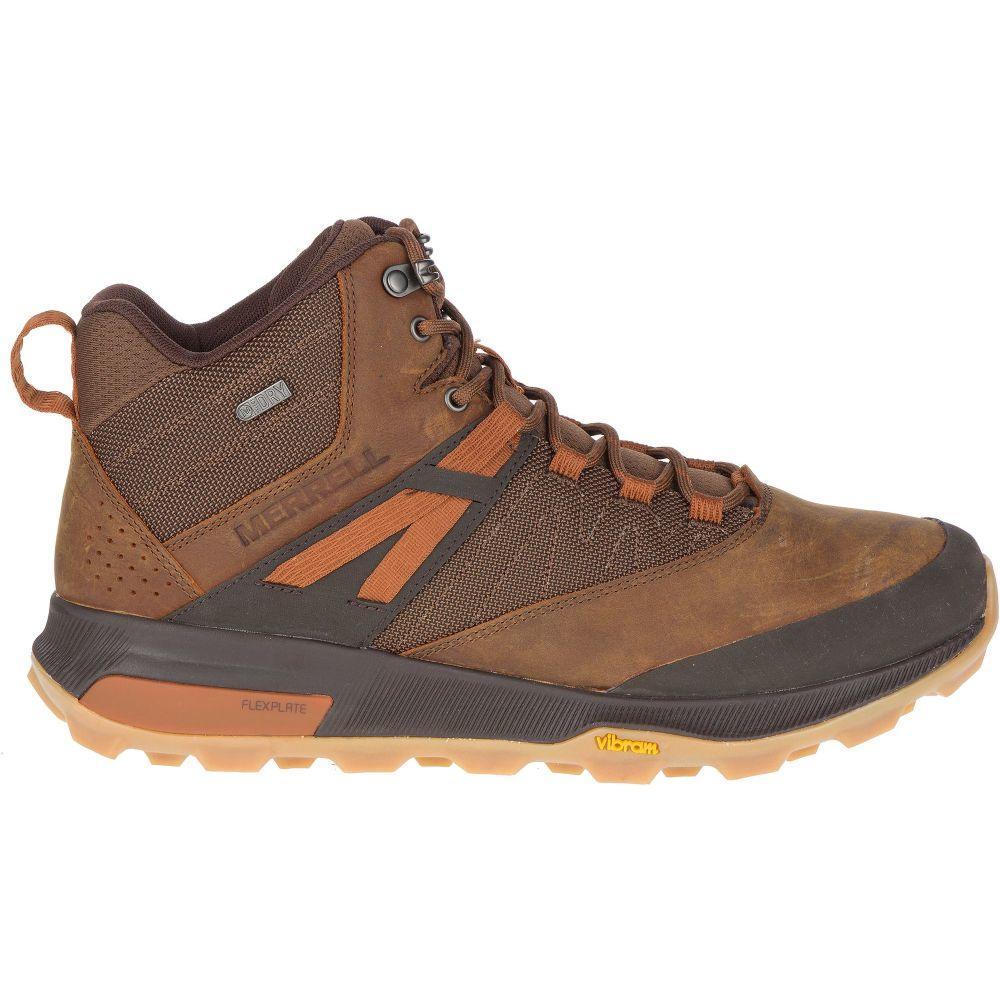 メレル Merrell メンズ ハイキング・登山 ブーツ シューズ・靴【Zion Mid Waterproof Hiking Boots】Toffee