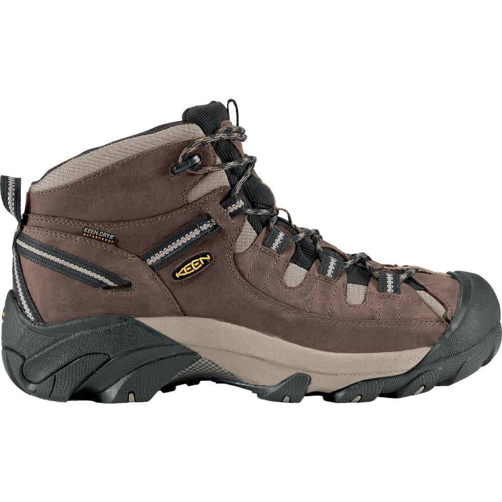 キーン Keen メンズ ハイキング・登山 シューズ・靴【KEEN Targhee II Mid Waterproof Hiking Boots】Brown