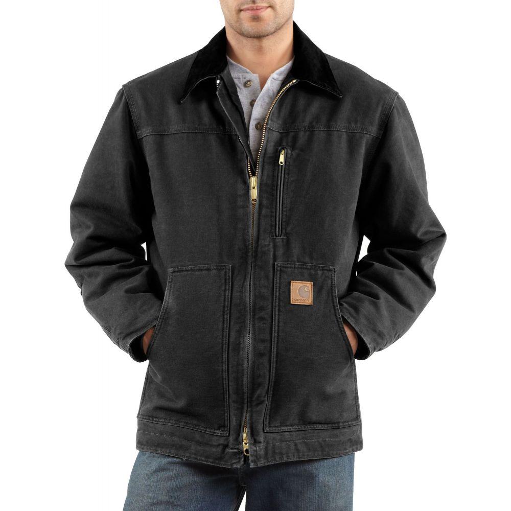 カーハート Carhartt メンズ コート アウター【Sandstone Ridge Coat (Regular and Big & Tall)】Black