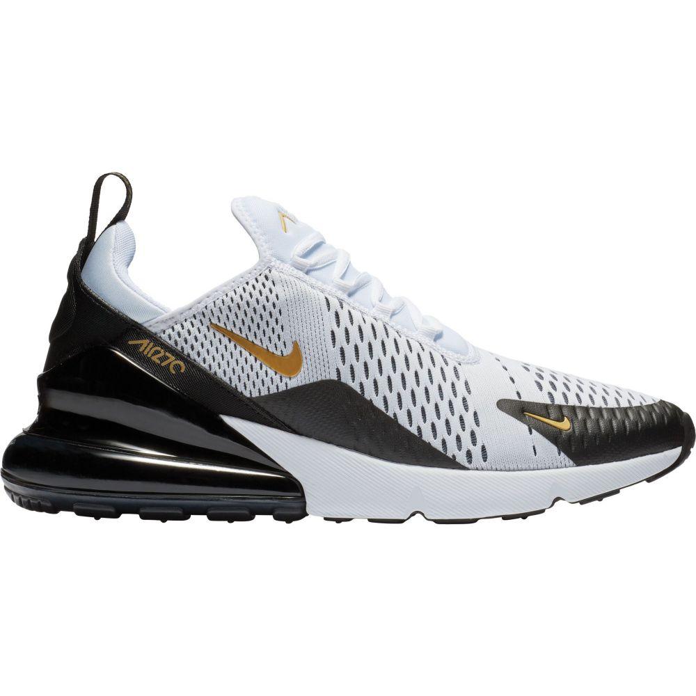 ナイキ Nike メンズ スニーカー エアマックス 27 シューズ・靴【Air Max 270 Shoes】Black/White/Metallic Gold