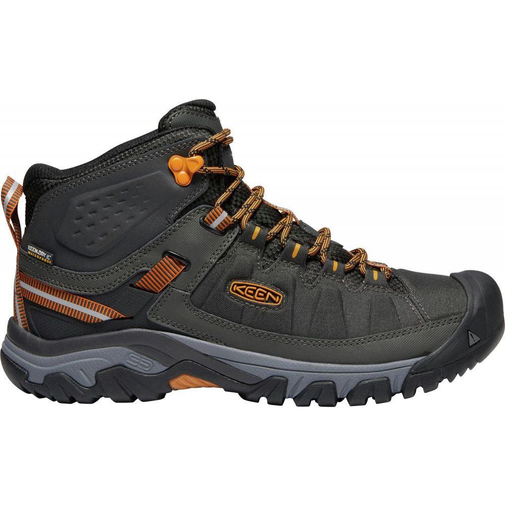 キーン Keen メンズ ハイキング・登山 シューズ・靴【KEEN Targhee EXP Mid Waterproof Hiking Boots】Raven/Inca Gold