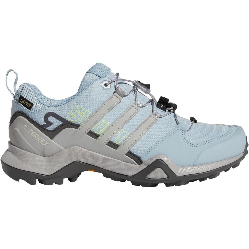 アディダス adidas レディース ハイキング・登山 シューズ・靴【Terrex Swift R2 GTX Waterproof Hiking Shoes】Ash Grey/Grey Two/Grey