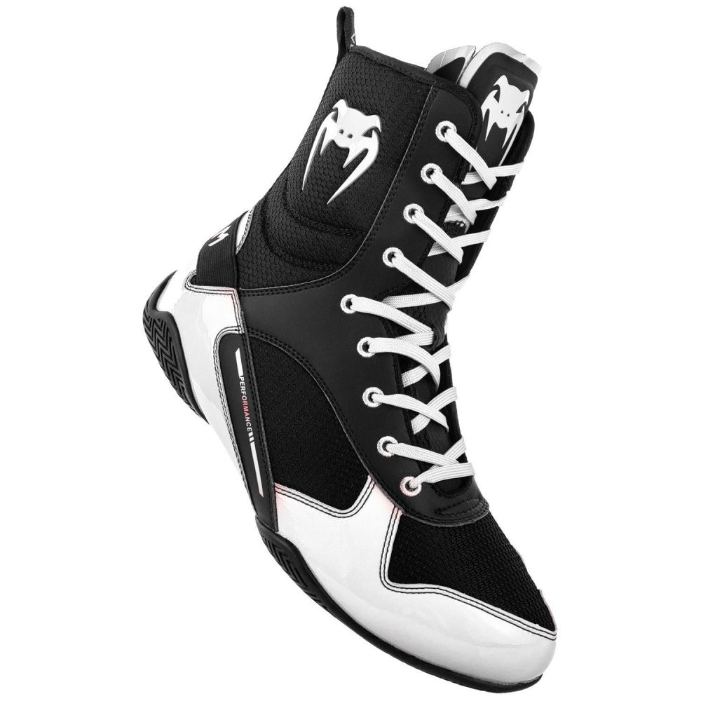 ヴェヌム Venum メンズ シューズ・靴 【Elite Boxing Shoes】Black/White