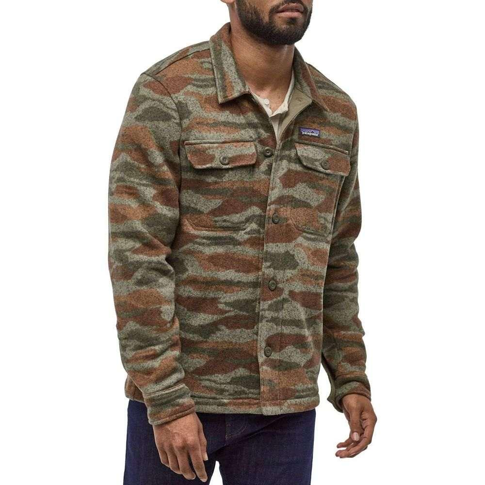 パタゴニア Patagonia メンズ フリース トップス【Better Sweater Shirt Fleece Jacket】Bear Witness Cmo/Sage Kha