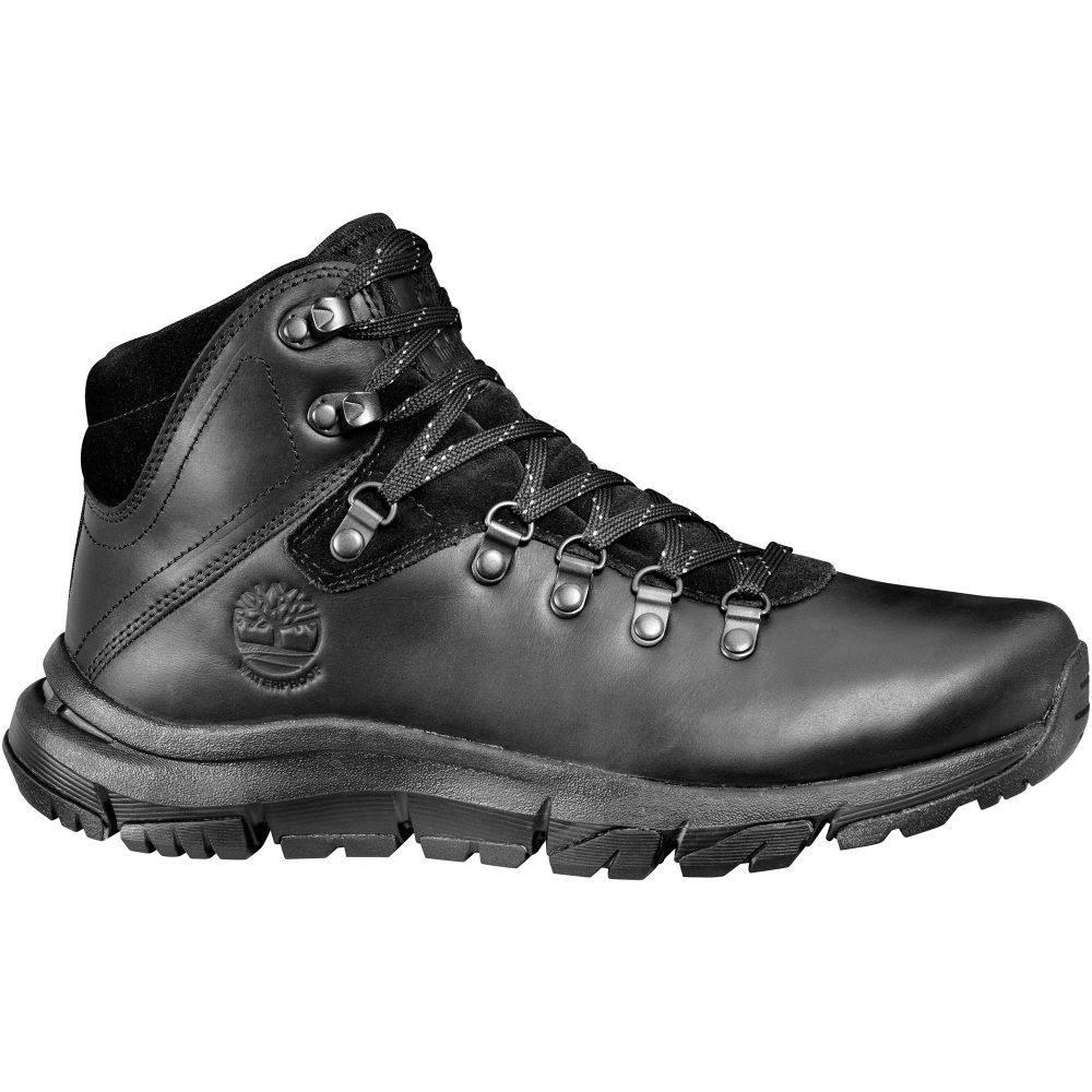 ティンバーランド Timberland メンズ ハイキング・登山 フィールドブーツ ブーツ シューズ・靴【Garrison Field Mid Hiker Waterproof Hiking Boots】Blackout