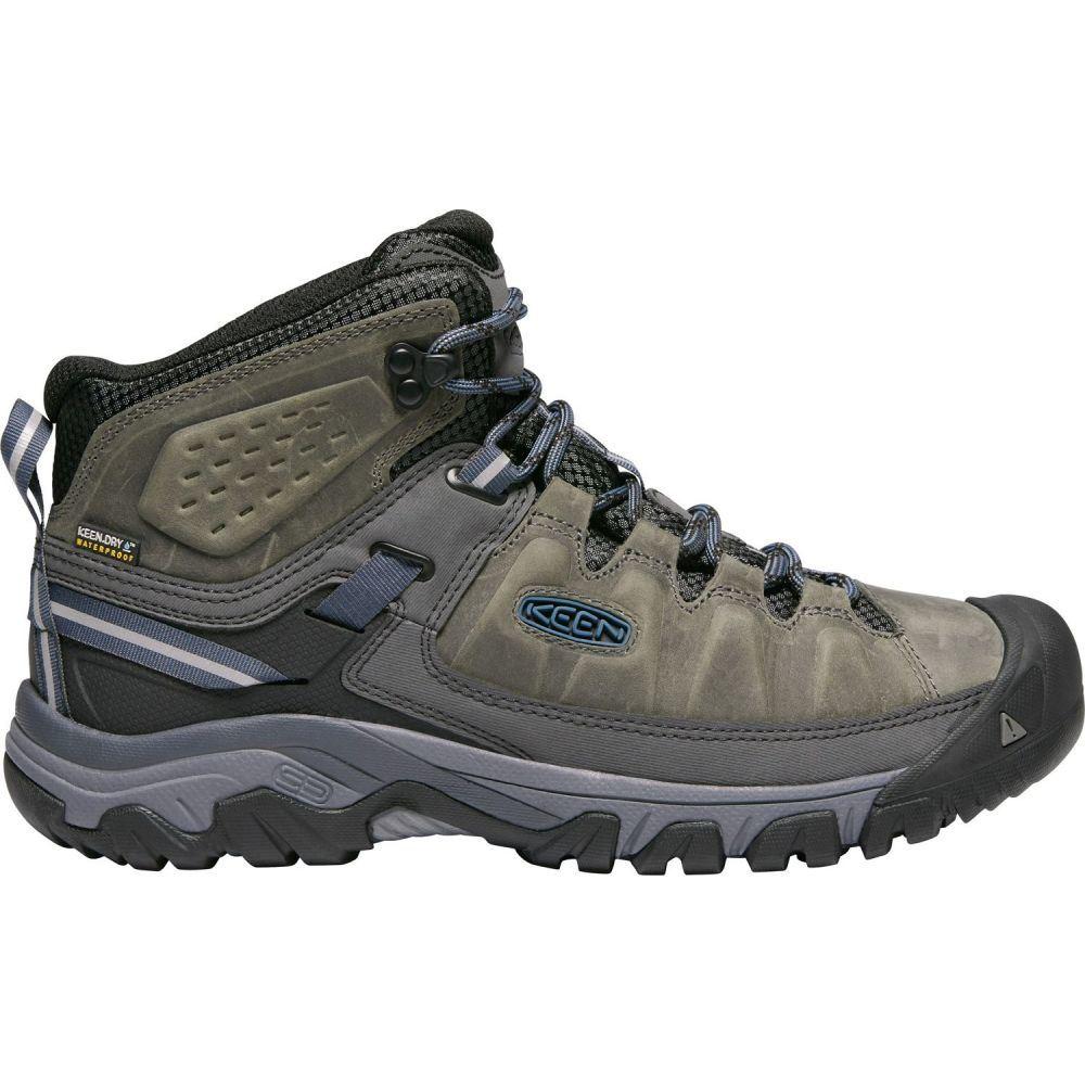 キーン Keen メンズ ハイキング・登山 ブーツ シューズ・靴【KEEN Targhee III Mid Waterproof Hiking Boots】Steel Grey/Captains Blue