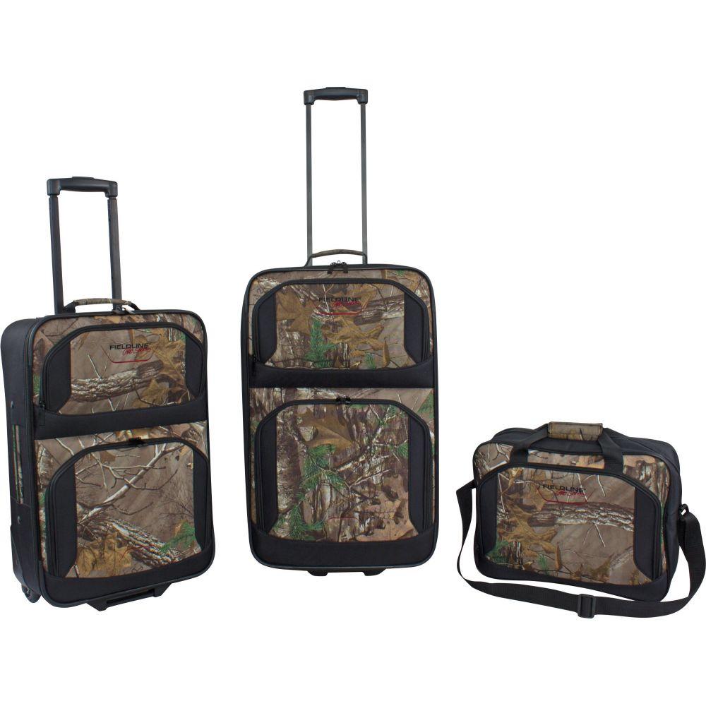 フィールドライン Fieldline ユニセックス スーツケース・キャリーバッグ 3個セット バッグ【Ranger Collection 3-Piece Luggage Set】Realtree Xtra