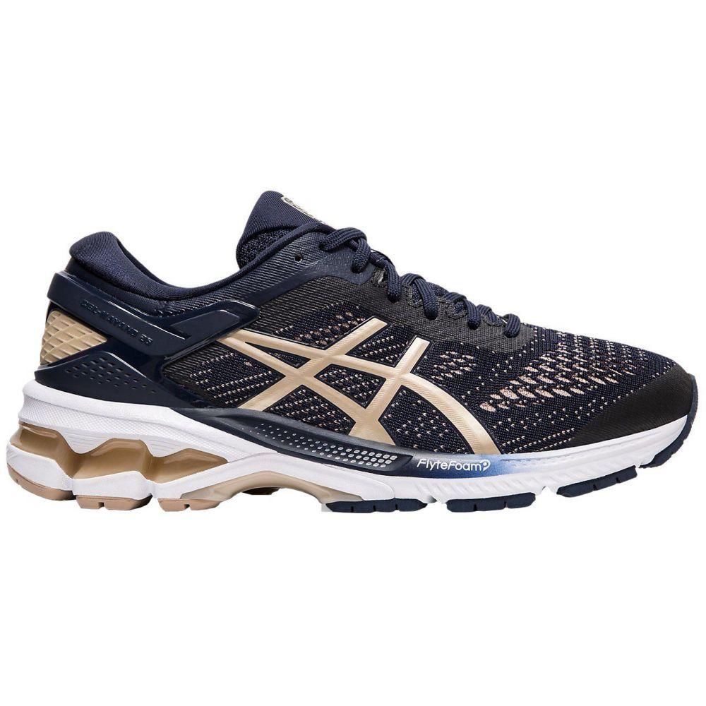アシックス ASICS レディース ランニング・ウォーキング シューズ・靴【GEL-Kayano 26 Running Shoes】Navy/Gold