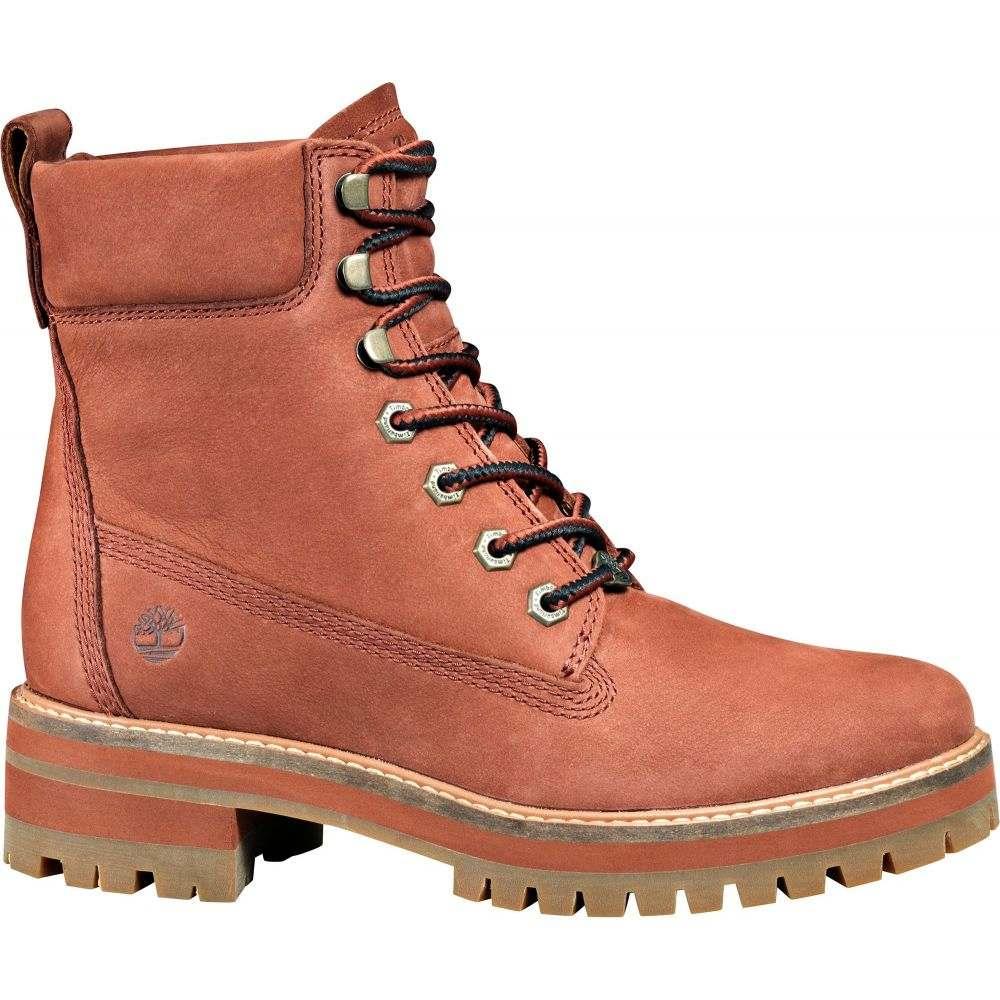 ティンバーランド Timberland レディース ブーツ シューズ・靴【Courmayeur Valley 6'' Casual Boots】Rust
