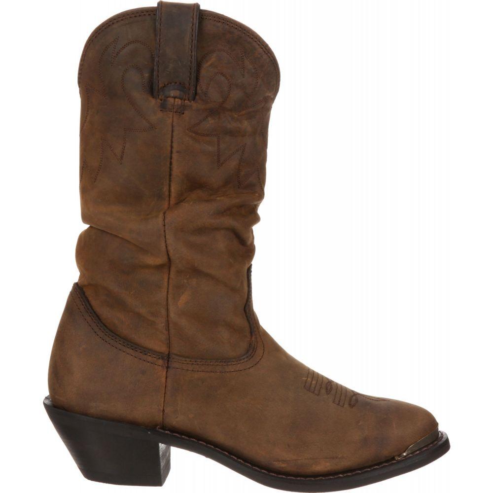 デュランゴ Durango レディース ブーツ ウェスタンブーツ シューズ・靴【Distressed Tan Slouch Western Boots】Distressed Tan