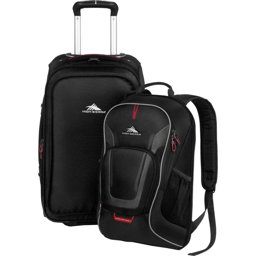 ハイシエラ High Sierra ユニセックス バックパック・リュック バッグ【AT7 Wheeled Backpack】Black