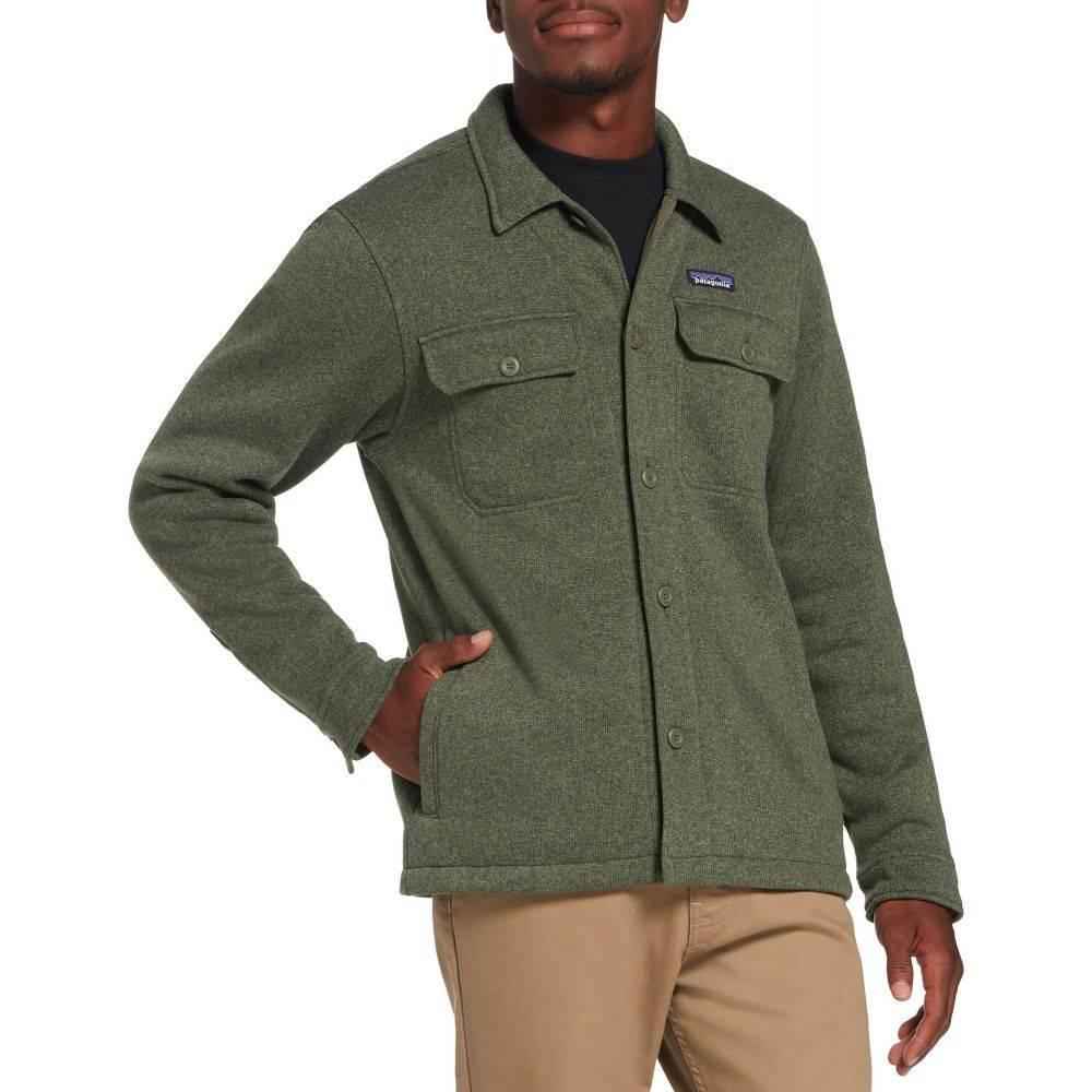 パタゴニア Patagonia メンズ フリース トップス【Better Sweater Shirt Fleece Jacket】Industrial Green