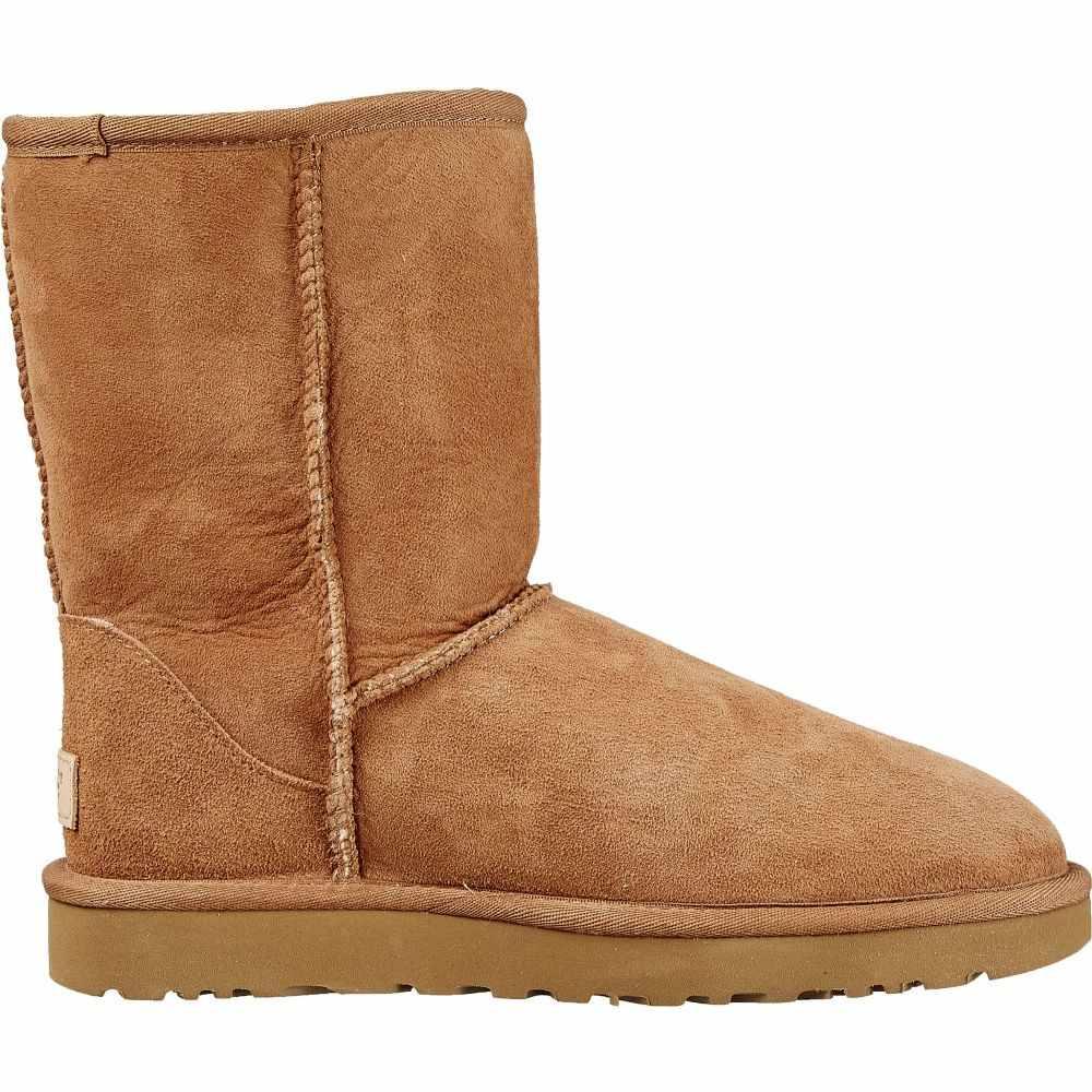 アグ UGG レディース ブーツ ウインターブーツ シューズ・靴【Australia Classic Short II Winter Boots】Chestnut