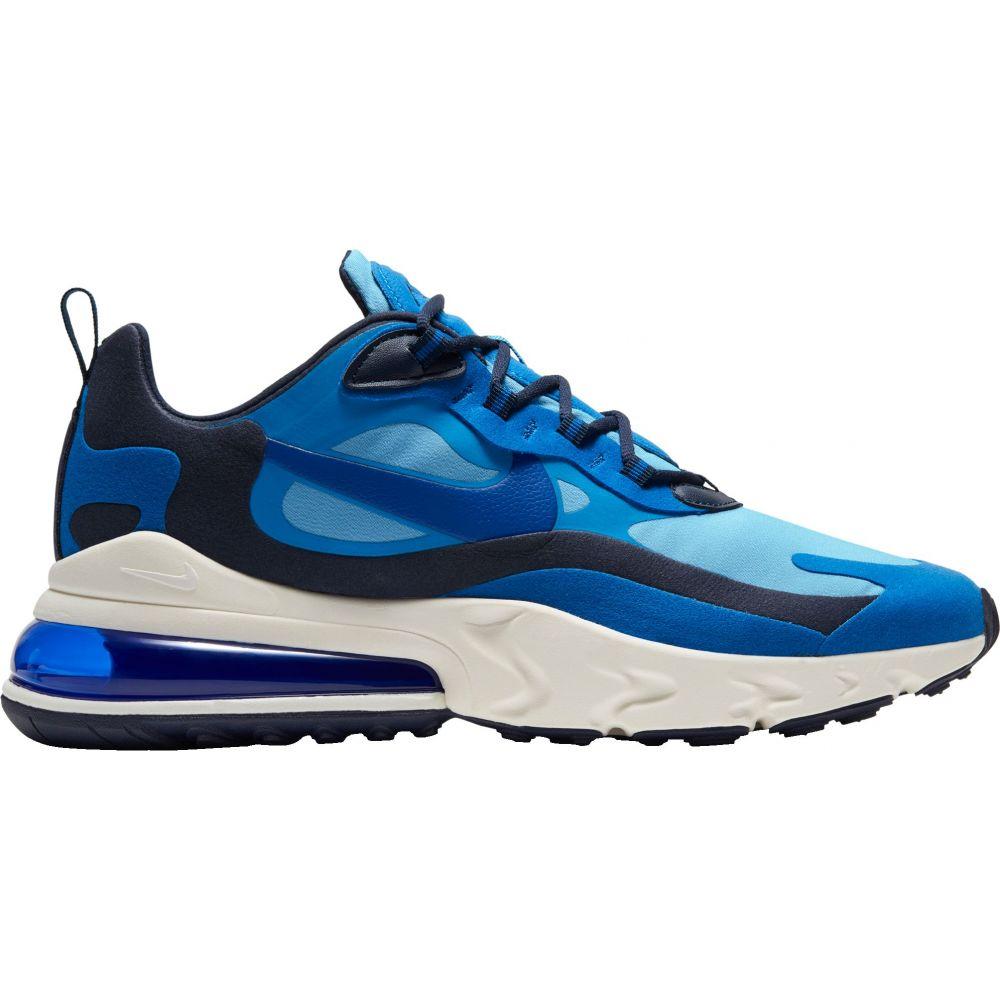 ナイキ Nike メンズ スニーカー エアマックス 27 シューズ・靴【Air Max 270 React Shoes】Pacific Blu/Univ Blu/Blk